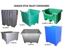 UNIQUE-STYLE PALLET CONTAINERS